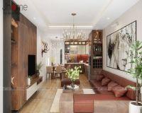 Thiết kế nội thất nhà phố Viên - Nội thất Jhome