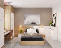 Thiết kế nội thất phòng ngủ master chung cư CT1 Thạch Bàn - Nội thất Jhome