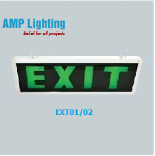 Đèn EXIT thoát hiểm EXT01/02 AMPLighting