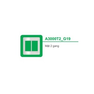 MẶT 2 NGANG A3000T2_G19