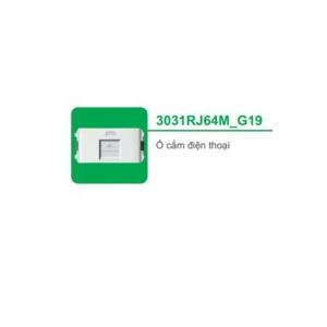 Ổ CẮM ĐIỆN THOẠI 3031RJ64M_G19