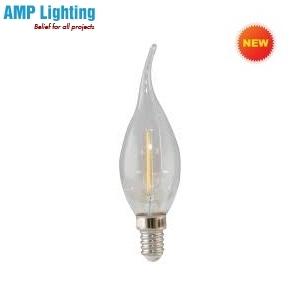 Bóng Đèn LED Nến Dây Tóc 2.5W LED N/2.5W RẠNG ĐÔNG