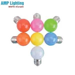Bóng Đèn LED BULB Tròn Màu 1W LED BULB 1W Color RẠNG ĐÔNG