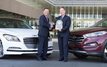 Hyundai Tucson và Genesis mang lại trải nghiệm tốt nhất theo đánh giá của J.D Power