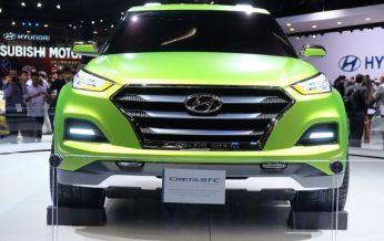 Hyundai Creta phiên bản bán tải có mặt tại triển lãm Sao Paulo 2016 với tên gọi Creta STC