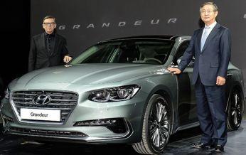 Sedan cao cấp cỡ trung Hyundai Azera 2017, chính thức được giới thiệu, có giá từ 508 triệu Đồng