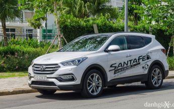 Đánh giá xe Hyundai SantaFe 2017