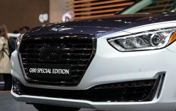 Genesis G90 Special Edition phiên bản đặc biệt gợi liên tưởng đến xe Bentley