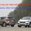 Hyundai SantaFe 2017 giảm giá sốc lên tới 230 triệu đồng nhân kỉ niệm 10 năm thương hiệu SantaFe tại Việt Nam