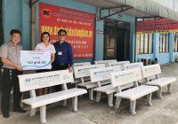 Hyundai Long Biên tặng Trung Tâm Đào Tạo Lái Xe Long Biên 10 chiếc ghế đá