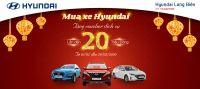 MUA XE HYUNDAI - TẶNG VOUCHER DỊCH VỤ LÊN TỚI 20 TRIỆU ĐỒNG tại Hyundai Long Biên