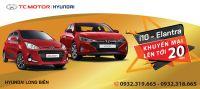 Khuyến mại lên đến 20 triệu đồng khi mua xe Grand i10 và Elantra đến hết 31/10/2020