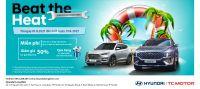 Beat the heat - Chăm sóc xe – Hè mát lạnh cùng Hyundai Long Biên by TC MOTOR