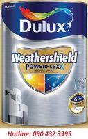Dulux Weathershield Powerflexx, bề mặt bóng, 5 lít