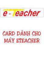 Card e teacher F8+