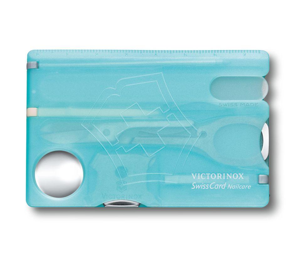 Dụng cụ đa năng Victorinox Nailcare 0.7240.T21, màu xanh