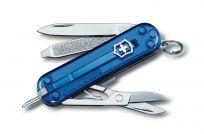 Dụng cụ đa năng Victorinox Signature 0.6225.T2, xanh dương trong suốt
