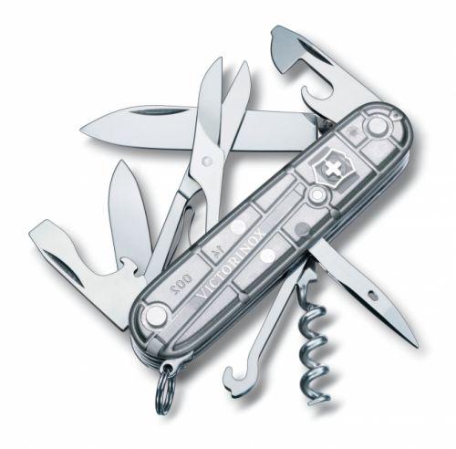 Dụng cụ xếp đa năng Victorinox Climber màu bạc, 1.3703.T7