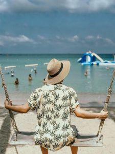 Mũ đi biển mũ cói fedora