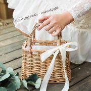 Túi đi biển túi mây xách tay đan thưa