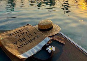 Túi cói đi biển Someday