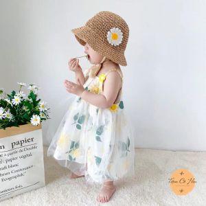 Set mũ túi đi biển em bé