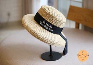 Mũ đi biển mũ cói sunshine