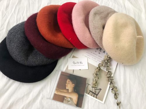 Nón/ Mũ nồi dạ mùa đông