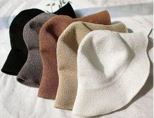 Nón đi biển/ Mũ bucket len gập gọn bỏ túi