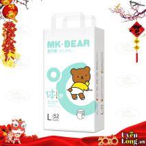 Bỉm Dán MK-BEAR nội địa Đài Loan - DÁN L52 (9-14kg)