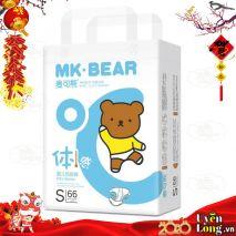 Bỉm Dán MK-BEAR nội địa Đài Loan - DÁN S66 (4-8kg)