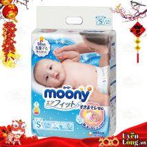 [New 2019] Bỉm Dán Moony Nội Địa Nhật Size S84 (4-8kg)