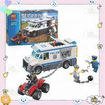Bộ Xếp Hình Lego Cảnh Sát Truy Bắt Tội Phạm Urban City URBAN CITY