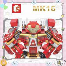 Bộ Đồ Chơi Lắp Ráp Lego Sembo Block IRON-MAN (Hàng Cao Cấp)