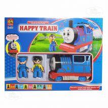 Đồ Chơi Mô Hình Tàu Hỏa Và Đường Ray Happy Time (Thomas Mini, Đường Ray 57.5x57.5cm)