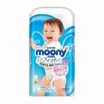 [NEW 2019] BỈM QUẦN MOONY NỘI ĐỊA NHẬT SIZE L44 TRAI (9-14KG)