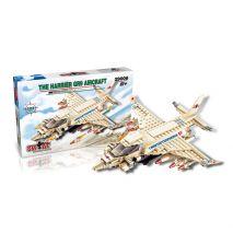 Bộ Đồ Chơi Lego Lắp Ghép Máy Bay Chiến Đấu Chống Khủng Bố (224 Miếng, Hàng Cao Cấp)