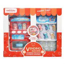 Máy Bán Nước Tự Động Vending Machine Happy Time (Dùng Pin, Có Đèn Âm Thanh)