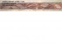 TBN-LISTELO HOME ACERO  5X50