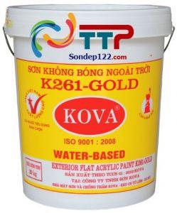 SƠN KHÔNG BÓNG NGOÀI TRỜI K261 - 20kg