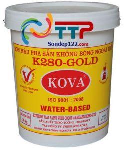 SƠN MÀU PHA SẴN NGOÀI TRỜI KOVA K280 GOLD-20kg (MÀU ĐẬM)