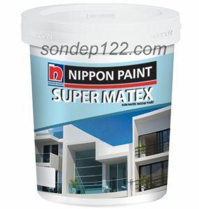 SƠN NGOẠI THẤT SUPER MATEX -18L