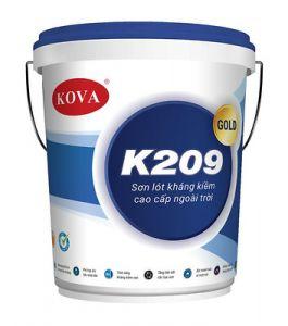 SƠN LÓT KHÁNG KIỀM CAO CẤP NGOÀI TRỜI KOVA K209 - GOLD