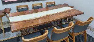 Mặt bàn gỗ me tây