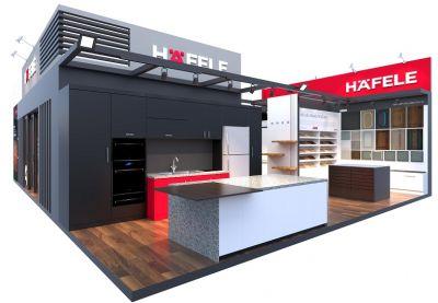 Tham Quan Showroom Hafele 3D
