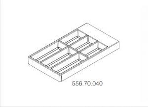 Khay Chia Đa Năng Separado 300mm Hafele 556.70.040