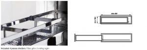 Bộ Rổ Kéo Số 15 R150mm Hafele 549.24.633