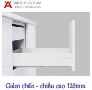 Ray Hộp Alto-S Giảm Chấn H120mm Hafele 552.49.735