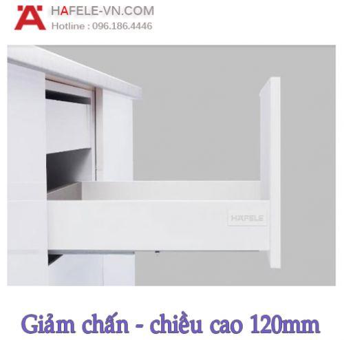 Ray Hộp Alto-S Giảm Chấn H120mm Hafele 552.49.735