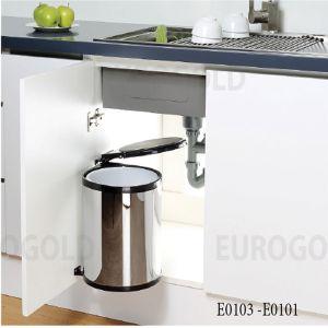 Thùng Đựng Rác 400mm Eurogold E0103
